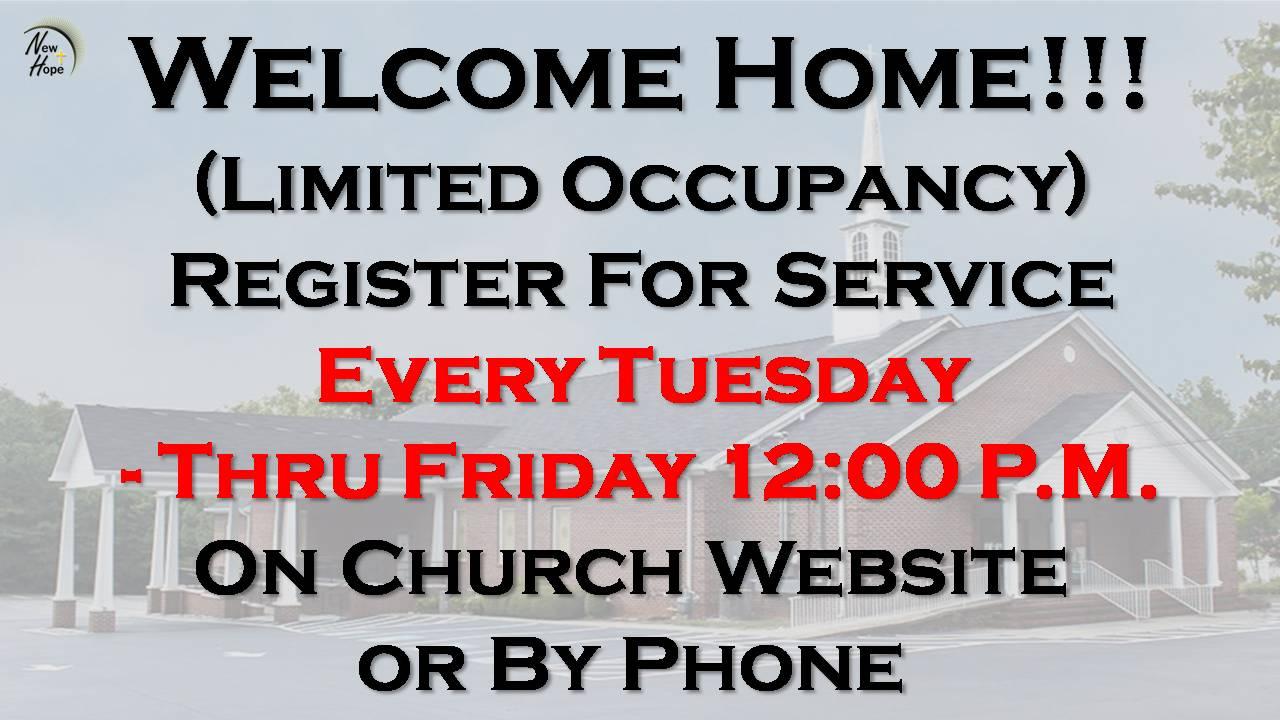Church Registration