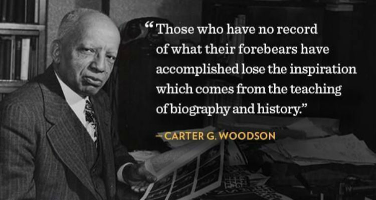 Click Here To Learn More On Dr. Carter G. Woodson